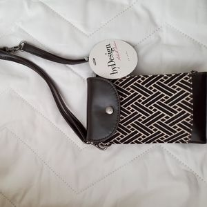 Demdaco crossbody mini purse. NWT
